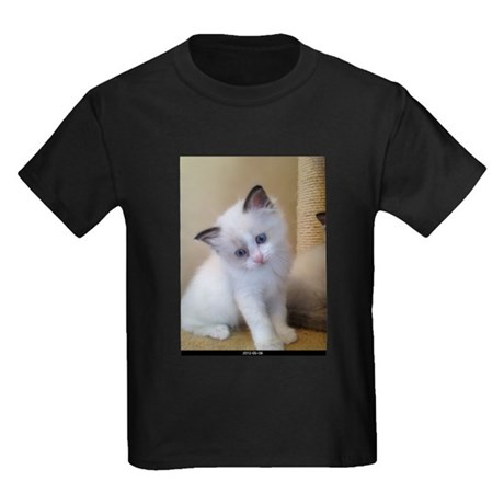 Ragalicious Ragdoll Kitten Kids Dark T-Shirt