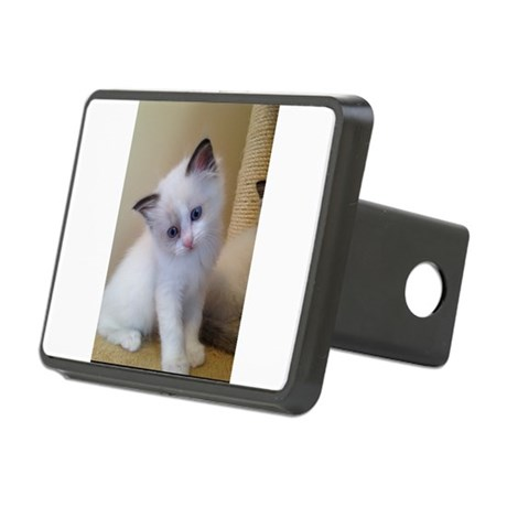 Ragalicious Ragdoll Kitten Rectangular Hitch Cover