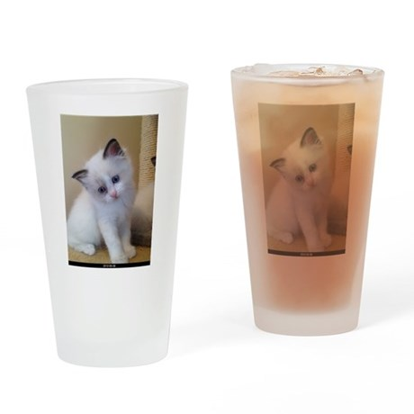 Ragalicious Ragdoll Kitten Drinking Glass