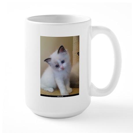 Ragalicious Ragdoll Kitten Large Mug