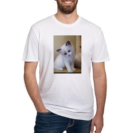 Ragalicious Ragdoll Kitten Fitted T-Shirt