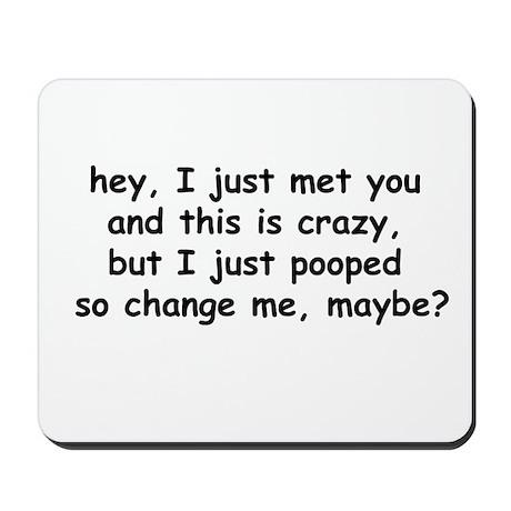 change me, maybe? Mousepad