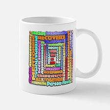 Words of Recovery Mug