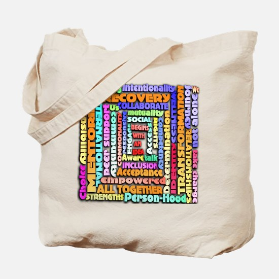 Words of Recovery Tote Bag
