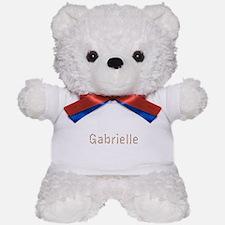 Gabrielle Pencils Teddy Bear