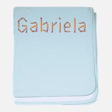 Gabriela Pencils baby blanket