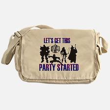 Party Started Messenger Bag