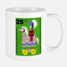 1971 Germany Toy Horse Postage Stamp Mug