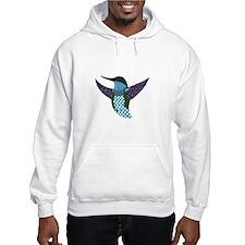 Blue Hummingbird Hoodie