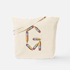 G Pencils Tote Bag