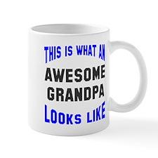 Awesome Grandpa Looks Like Mug