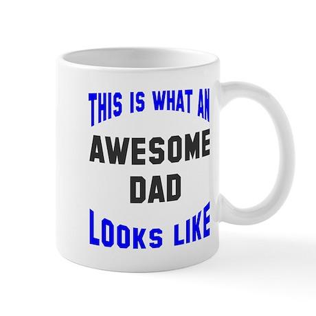 Awesome Dad Looks Like Mug By Heythatspunny2