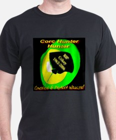 Croc Hunter Hunter Sunshine Black T-Shirt