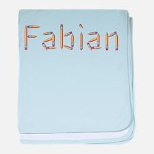 Fabian Pencils baby blanket