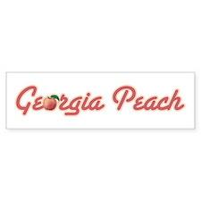 Georgia Peach Bumper Bumper Sticker