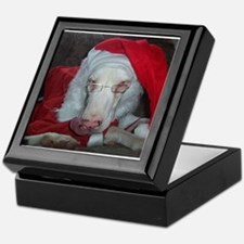 Cute Great dane christmas Keepsake Box