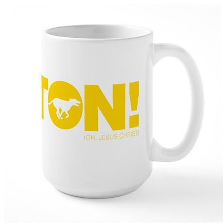 Fenton Yellow Large Mug