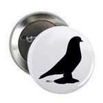 "West Pigeon Silhouette 2.25"" Button (10 pack)"