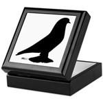 West Pigeon Silhouette Keepsake Box