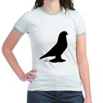 West Pigeon Silhouette Jr. Ringer T-Shirt