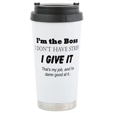 Unique Boss lady Travel Mug