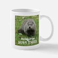 Groundhog DOWN UNDER Mug
