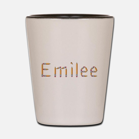 Emilee Pencils Shot Glass