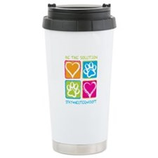 Be The Solution Squares Travel Mug