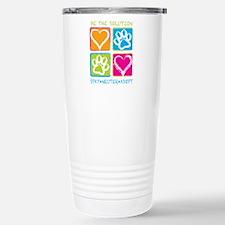 Be The Solution Squares Travel Mug