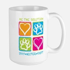 Be The Solution Squares Mug