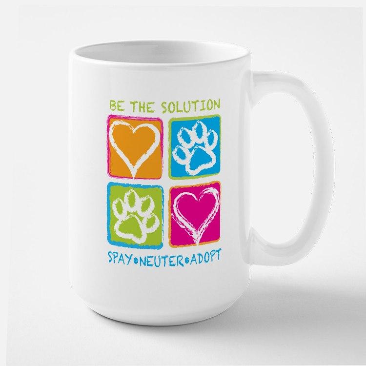 Be The Solution Squares Mug