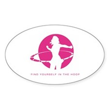 Hoopnotica Rectangle Decal