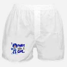 Licensed Fight Like a Girl 42.8 Colon Boxer Shorts