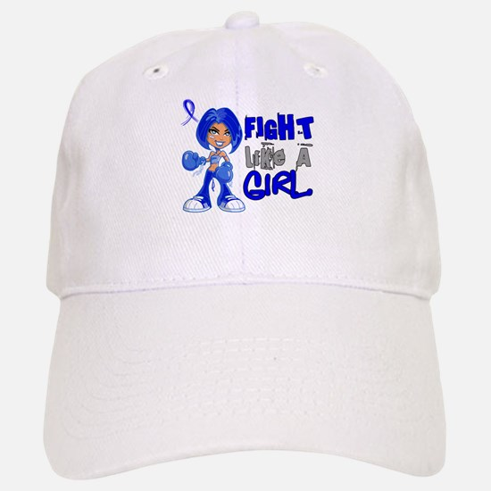 Licensed Fight Like a Girl 42.8 Colon Cancer Cap