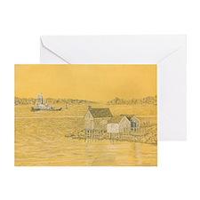 Willard Beach Fishing Shack Greeting Card