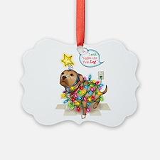 Yule Dog Ornament