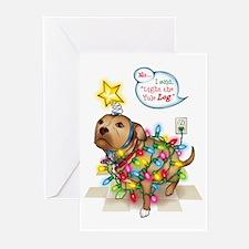 Yule Dog Greeting Cards (Pk of 20)