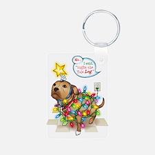 Yule Dog Keychains