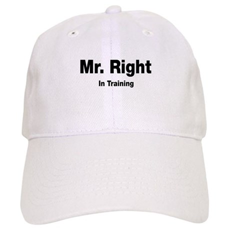 Mr Right In Training Cap