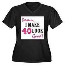Hot 40th Birthday Plus Size T-Shirt