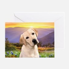 Labrador Meadow Greeting Card