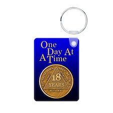 18-Year Chip Keychains