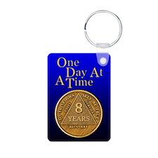 8-Year Chip Keychains