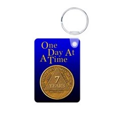 7-Year Chip Keychains