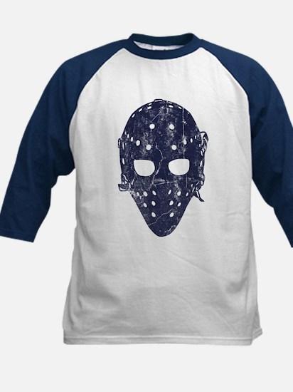 Vintage Hockey Goalie Mask (dark) Kids Baseball Je