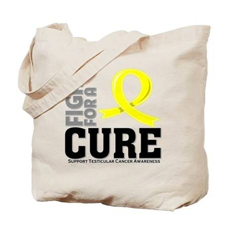 Testicular Cancer Fight For A Cure Tote Bag