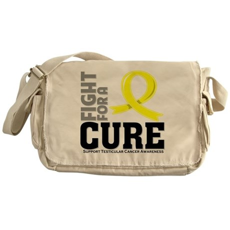 Testicular Cancer Fight For A Cure Messenger Bag