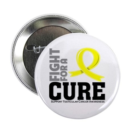 "Testicular Cancer Fight For A Cure 2.25"" Button (1"