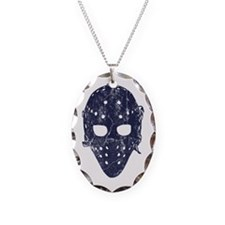 Vintage Hockey Goalie Mask (dark) Necklace
