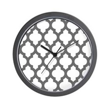 Moroccan Collection - Grey Wall Clock